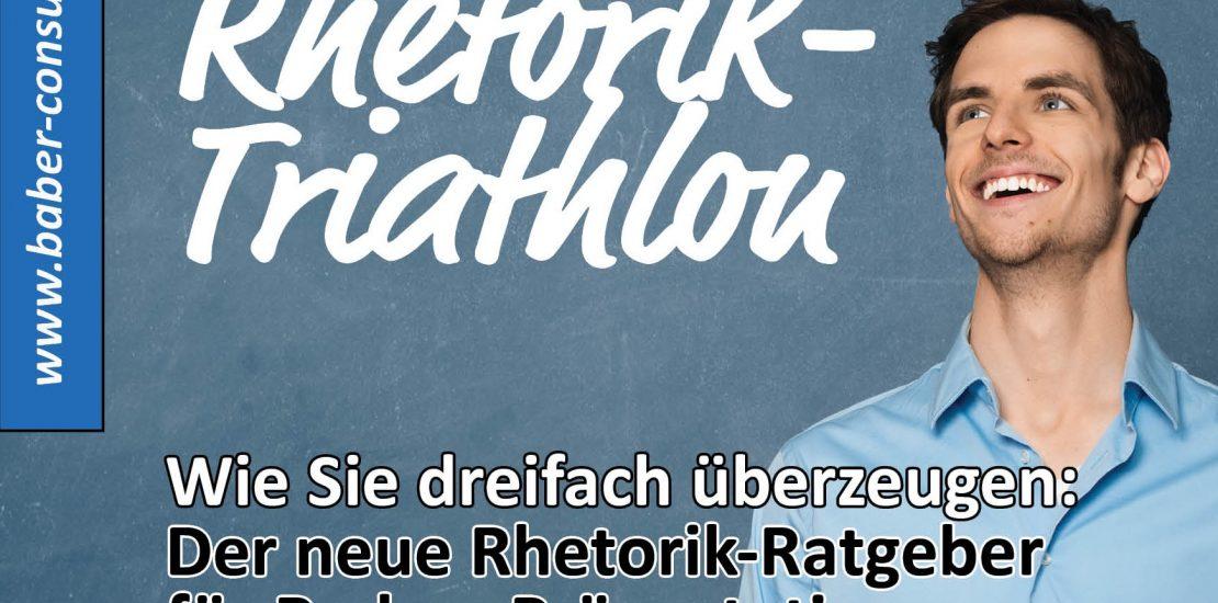 der rhetorik triathlon rhetorik-ratgeber